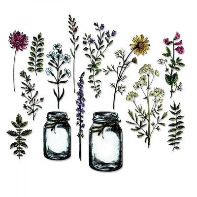 Framelits Die Set, Tim Holtz, Flower Jar 23Pk