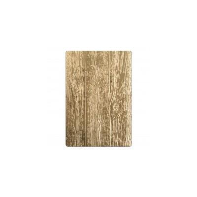 3D Texture Fades Embossing Folder - Lumber