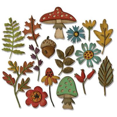Thinlits Die, Funky Foliage (20pk)