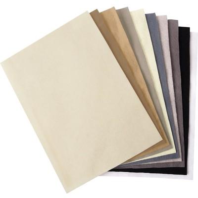 8.5X11 Surfacez Felt Pack, Neutral (10 Colors/10 Sheets)