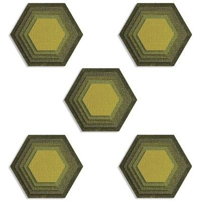 Thinlits Die Set, Stacked Tiles, Hexagons (25pk)