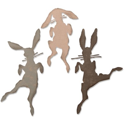 Thinlits Die Set, Bunny Hop (3pk)