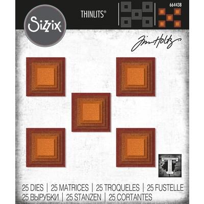 Thinlits Die Set, Stacked Squares (25pk)