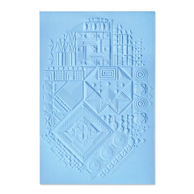 3D Textured Impressions Embossing Folder, Interface