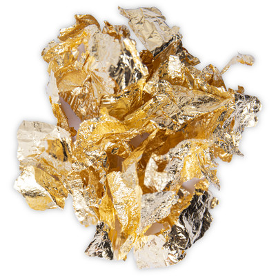 Effectz Decorative Metallic Flakes, Gold (0.8g)