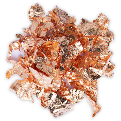 Effectz Decorative Metallic Flakes, Rose Gold (0.8g)