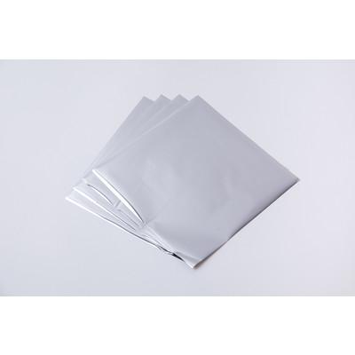 Effectz Decorative Foil Sheets, Silver (10 Sheets)