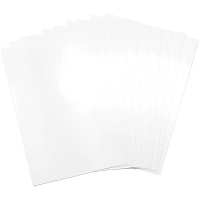 8.5X11 Shrink Plastic, White
