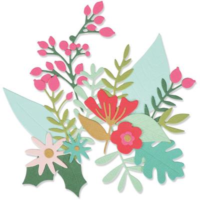 Thinlits Die Set, Floral Abundance (24pk)