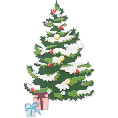 Thinlits Die Set, Layered Christmas Tree (8pk)
