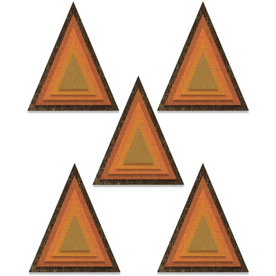 Thinlits Die Set, Stacked Tiles Triangles
