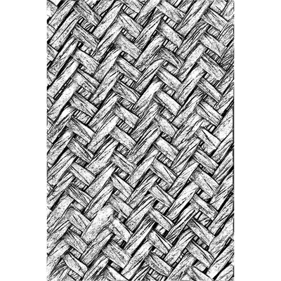 3D Texture Fades Embossing Folder - Intertwine