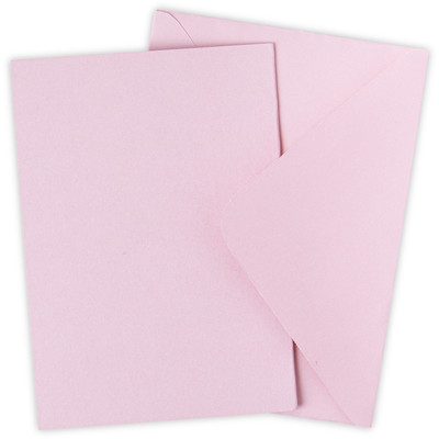Surfacez Card & Envelope Pack, A6 - Ballet Slipper (10pk)