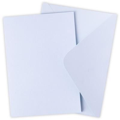 Surfacez Card & Envelope Pack, A6 - Arctic Sky (10pk)