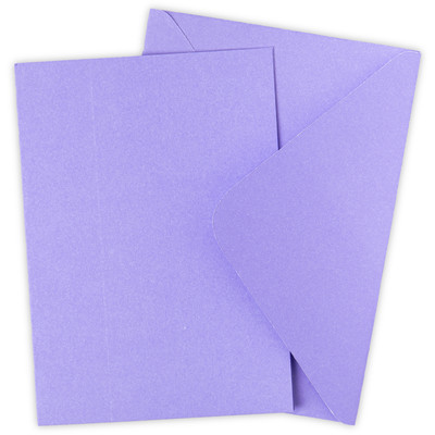 Surfacez Card & Envelope Pack, A6 - Lavender Dust (10pk)