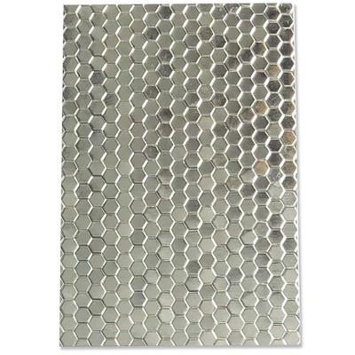 3D Textured Impressions Emb. Folder, Honeycomb Frenzy