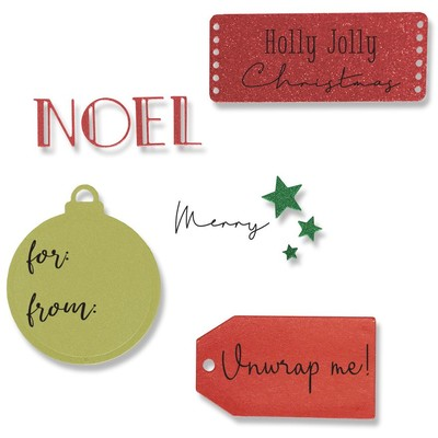 Framelits Die Set w/Stamps, Holly Jolly Christmas