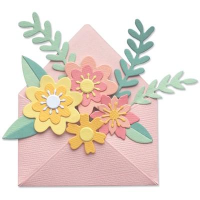 Thinlits Die Set, Flowers w/ Envelope