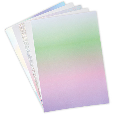 Surfacez 8.5X11 Opulent Cardstock Pack, Mystical