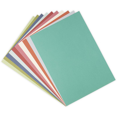 Surfacez 8.5X11 Cardstock Pack, Botanical Colors