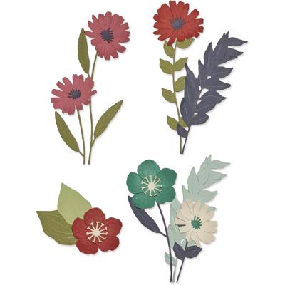 Thinlits Die Set, Wild Blooms #1 (13pk)