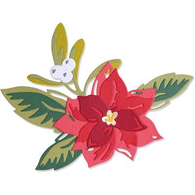 Thinlits Die Set, Layered Christmas Flower (13pk)
