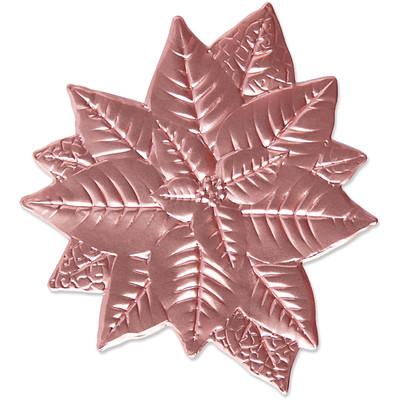 3D Impresslits Embossing Folder, Poinsettia