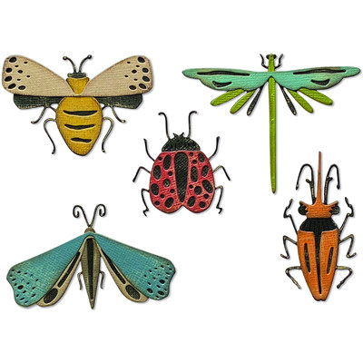 Thinlits Die Set, Funky Insects (5pk)