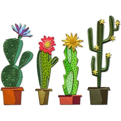 Thinlits Die Set, Funky Cactus (9pk)