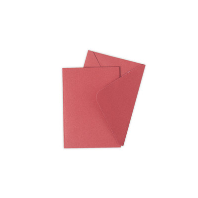 Surfacez Card & Envelope Pack, A6 - Holly Berry (10pk)
