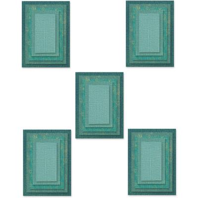 Thinlits Die Set, Stacked Tiles, Rectangles (25pk)