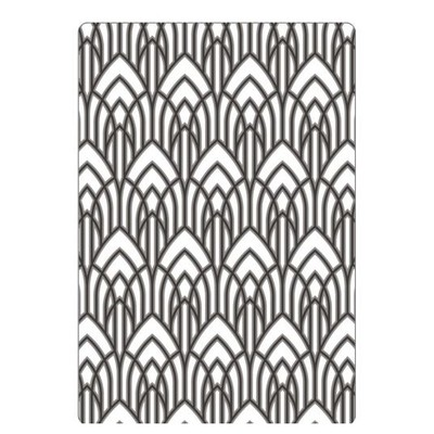 Multi-Level Texture Fades Embossing Folder, Arched