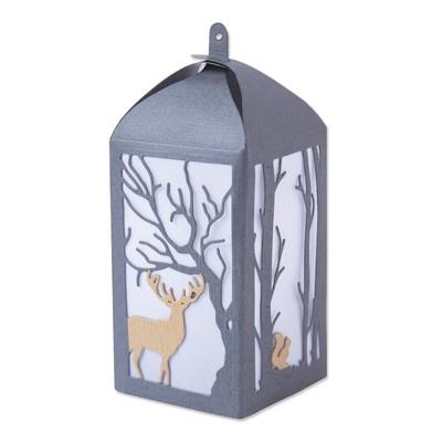 Thinlits Die Set, Woodland Lantern