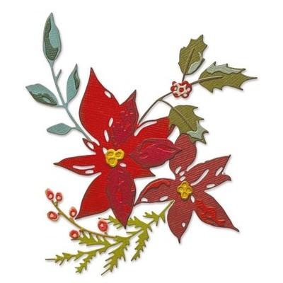 Thinlits Die Set, Festive Bouquet (6pk)