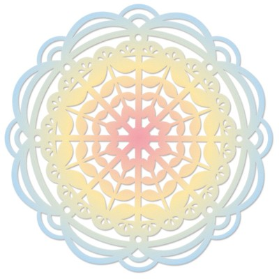 Thinlits Die, Heart Mandala