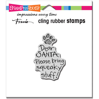 Cling Stamp, Squeaky Stuff