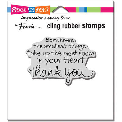 Cling Stamp, Smallest Things
