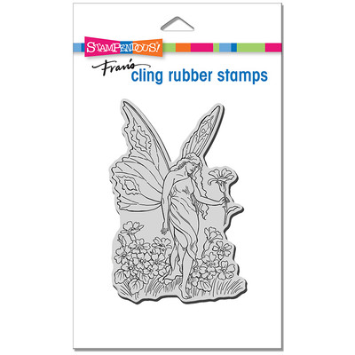 Cling Stamp, Fairy Tiptoe