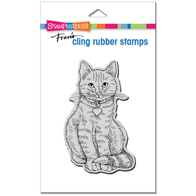 Cling Stamp, Sitting Kitty