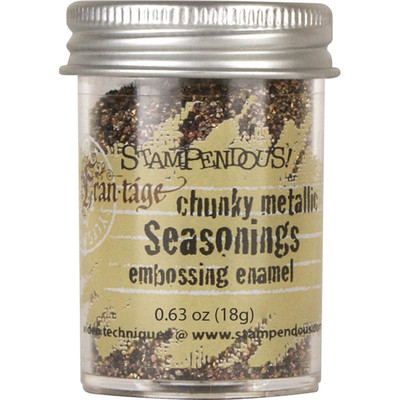 Frantage Embossing Enamel, Seasonings Chunky Metallic