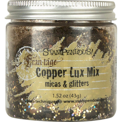 Lux Glitter Mix, Copper