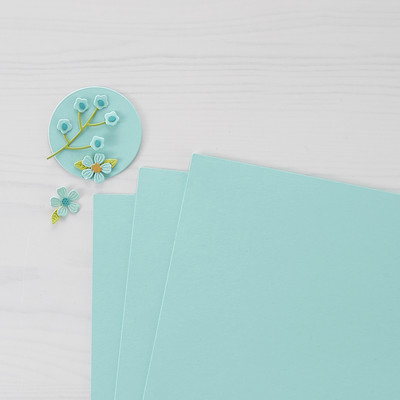 8.5X11 Color Essentials Cardstock, Waterfall