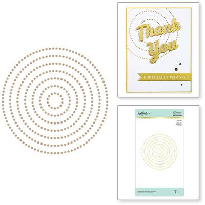 Glimmer Hot Foil Plate, Essential Circles