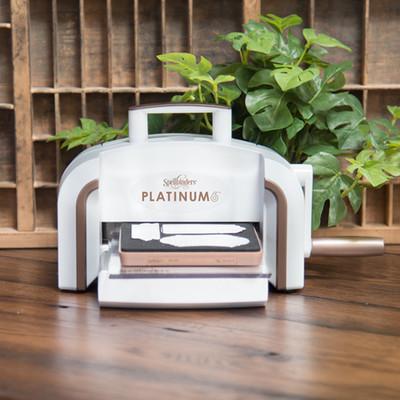 "Platinum Die Cutting and Embossing Machine, 6"" Platform"