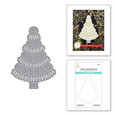 Die, Merry Stitchmas - Stitchmas Tree
