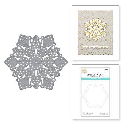 Die, Merry Stitchmas - Sparkling Mandala