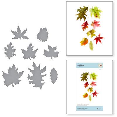 Die, Susan's Autumn Flora - Woodland Garden Leaves