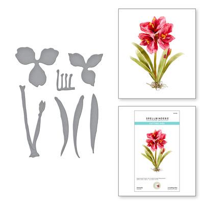 Die, Susan's Holiday Flora - Amaryllis
