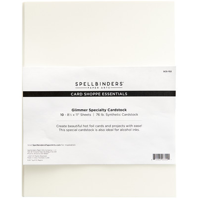 8.5X11 Glimmer Specialty Cardstock (10 Pack)