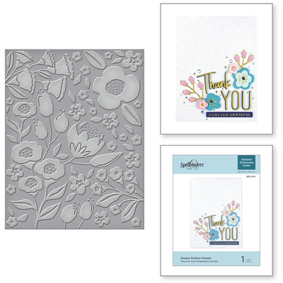 Embossing Folder, Simply Perfect - Florets